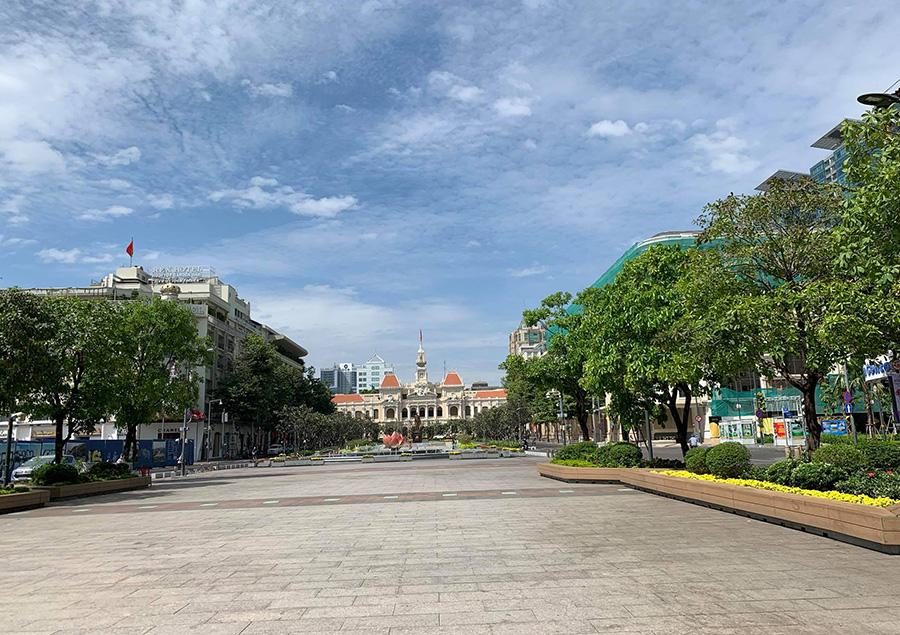 Nguyen Hue Street, Ho Chi Minh City