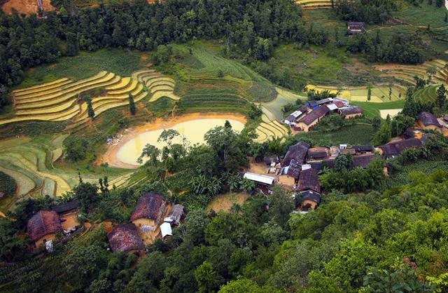 Lost in Lo Lo Chai Village Ha Giang