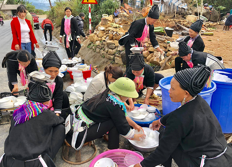 Hill Tribe in Lai Chau