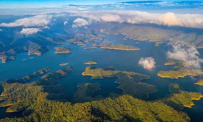 Ta Dung Lake in Dak Nong Geopark