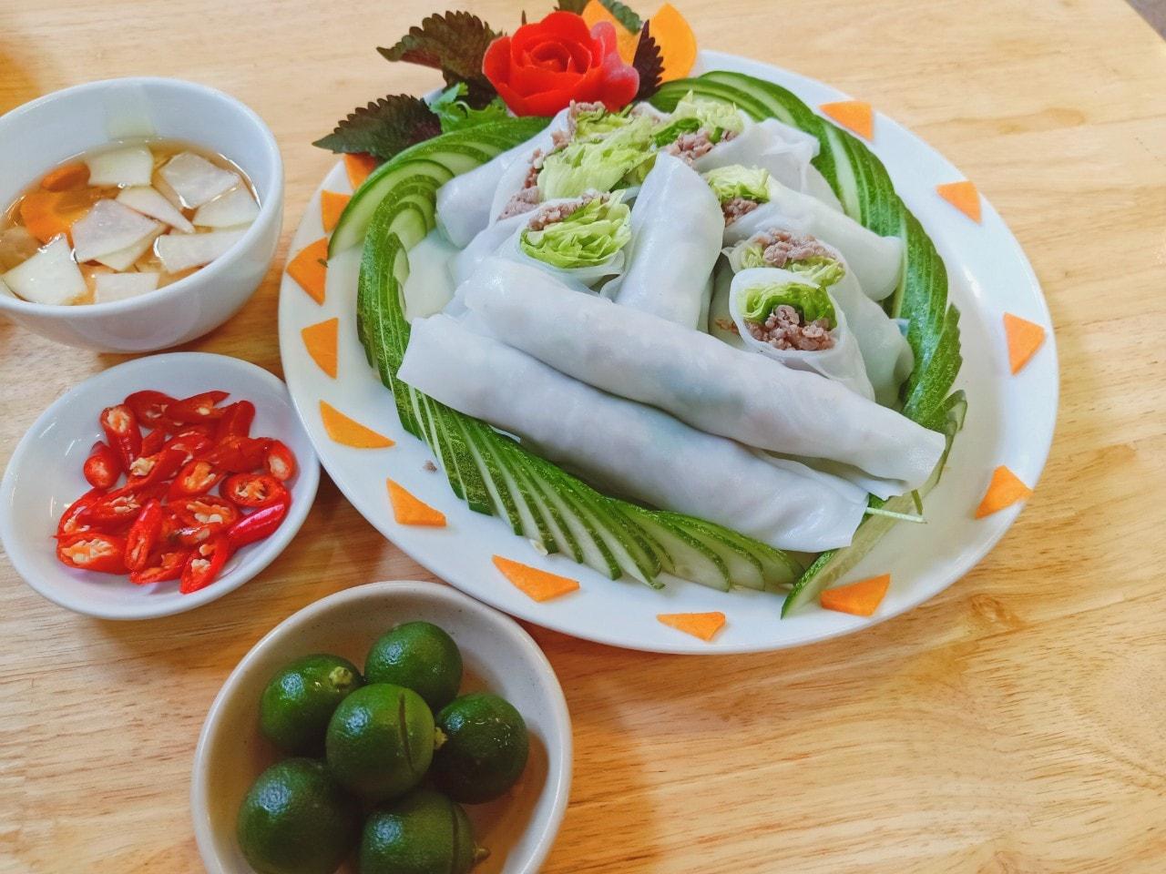 Pho Cuon, Roll Noodle