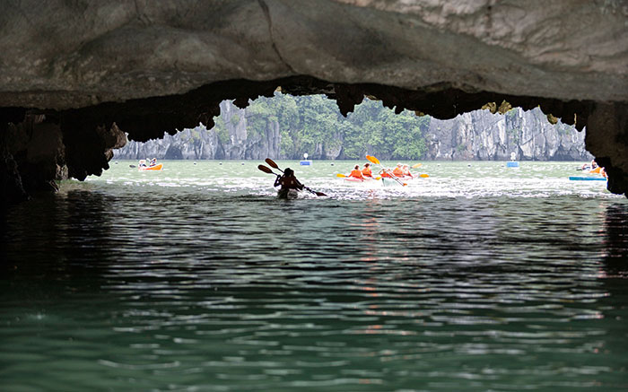 Kayak to the Cave