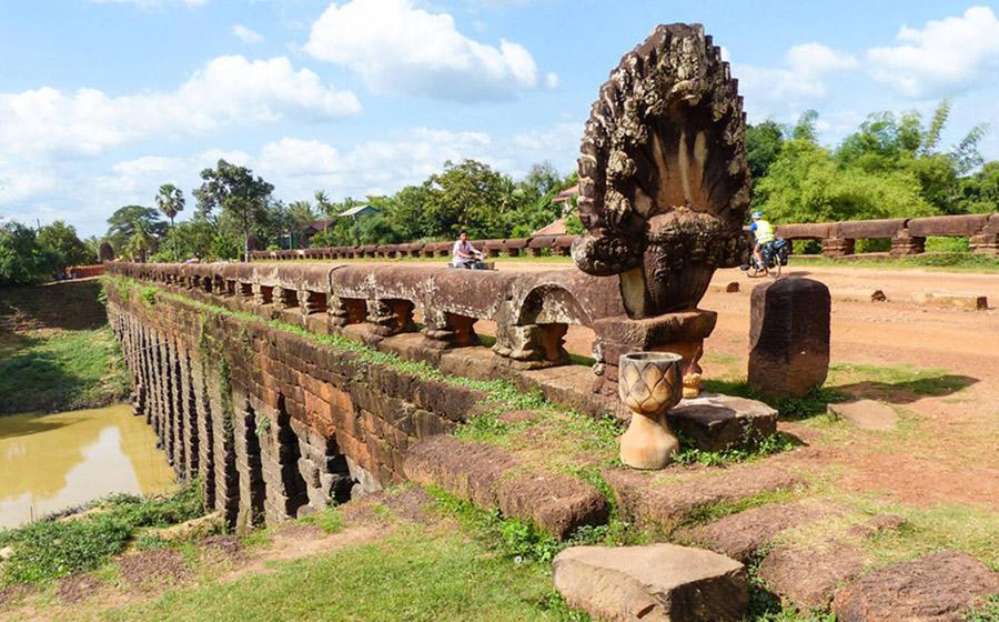 Kdei Ancient Bridge in Kampong Thom