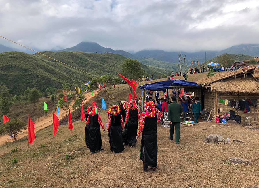 Ha Nhi hill tribe in Lai Chau