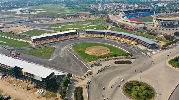 F1 Circuit Completed for Vietnam Grand Prix April 2020