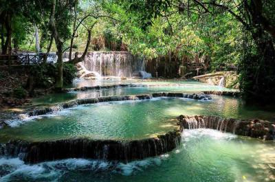 Kuang Si Waterfall 1 Day Tour