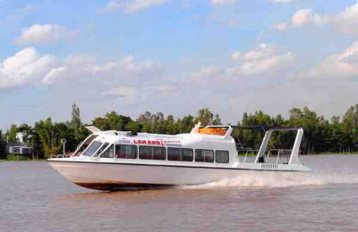 Along Mekong Delta to Cambodia