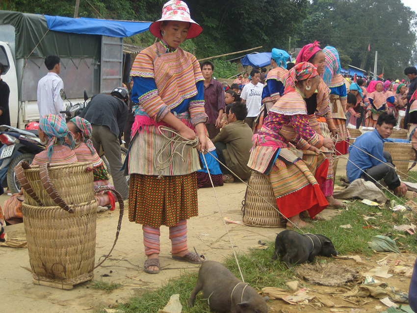 Local Hill tribe
