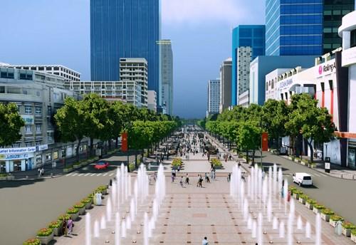 Nguyen Hue Street Ho Chi Minh City