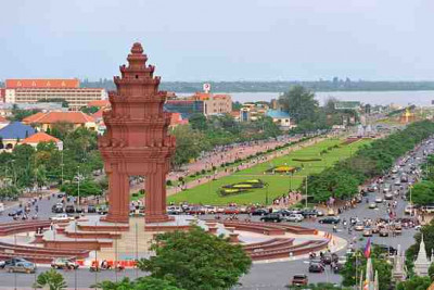 From Phnom Penh to Mekong Delta, Vietnam