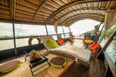 Exclusive 2 days cruise on Mekong Delta with overnight at local house by Private Cai Be Princess