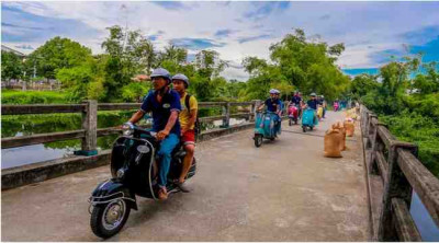 Hue Vespa Tour to The Countryside