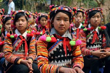 Ha nhi hill tribe