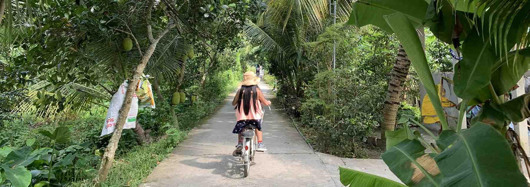Cyling tour mekong