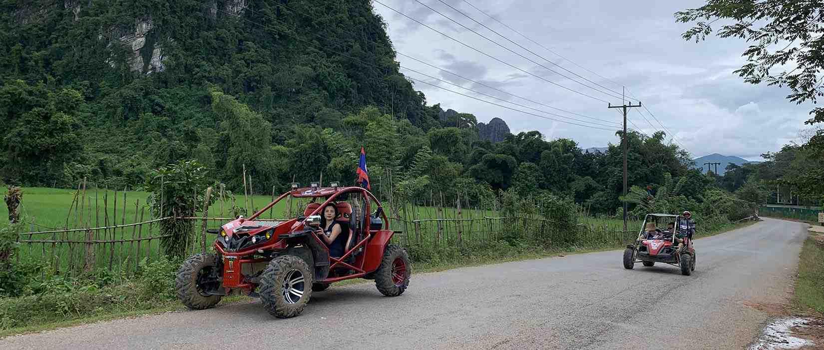 Buggy trip Vang Vieng