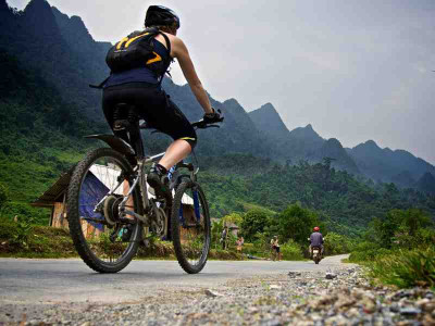 North East Vietnam on bike