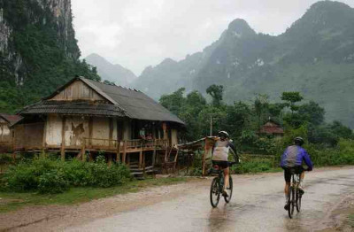 Northern Vietnam on bike