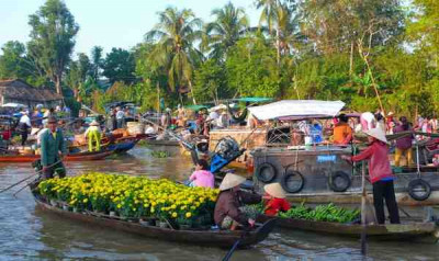 Ho Chi Minh - Canduoc - Cho Gao - My Tho-Ho Chi Minh