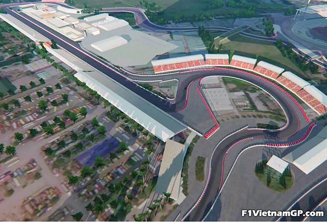The Circuit F1 Hanoi