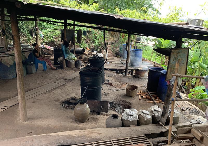 Laos Vodka Home Made