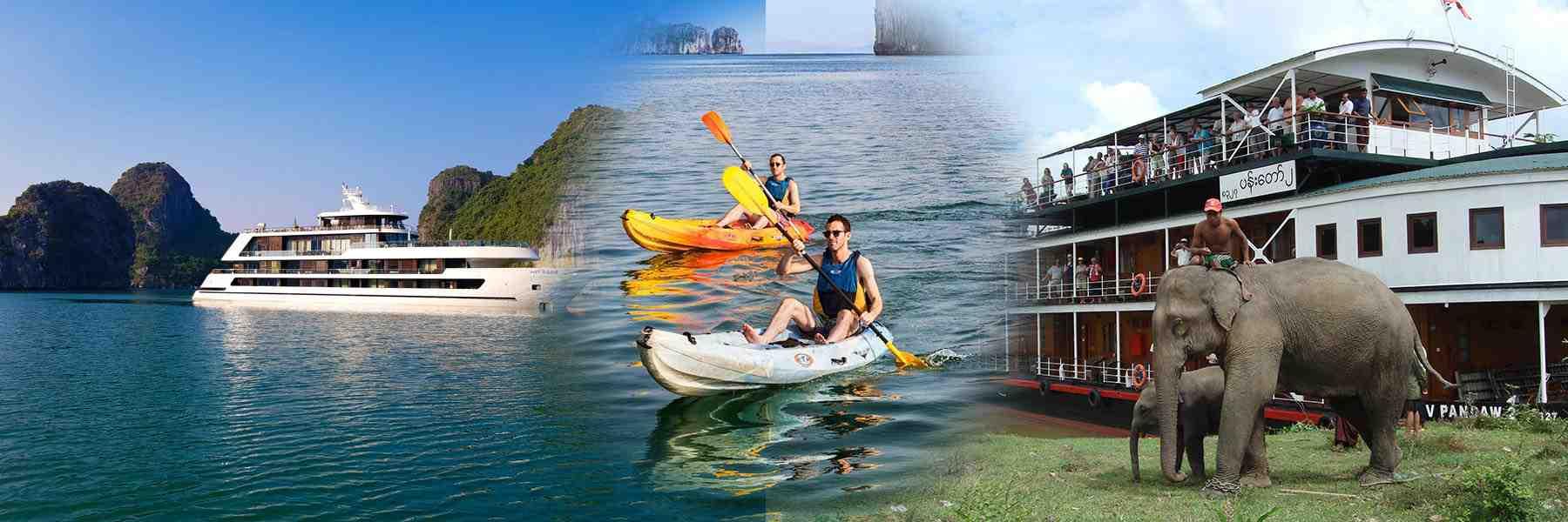 Halong bay and Mekong Cruises
