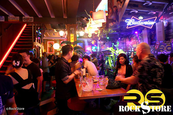 Rock store Bar Hanoi