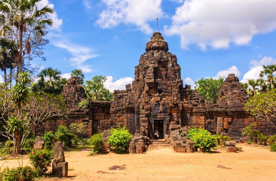 Ta Prohm Temple in Ta Keo