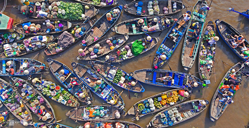 The colors of Mekong Delta