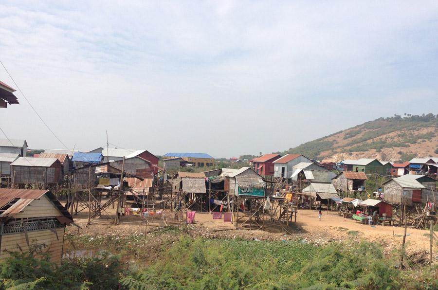 Local Village near Tonle Sap Lake
