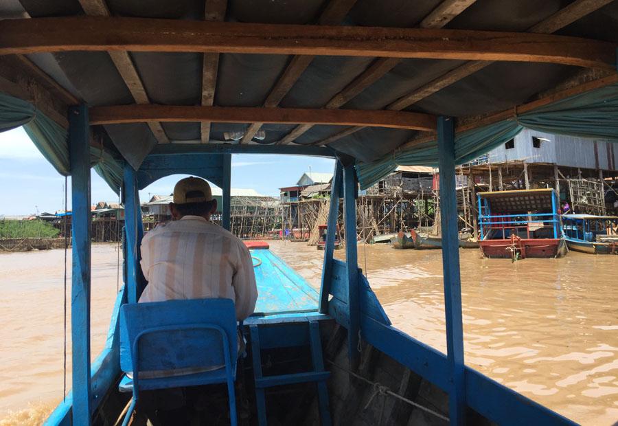 Boat trip in Kompong Phluk
