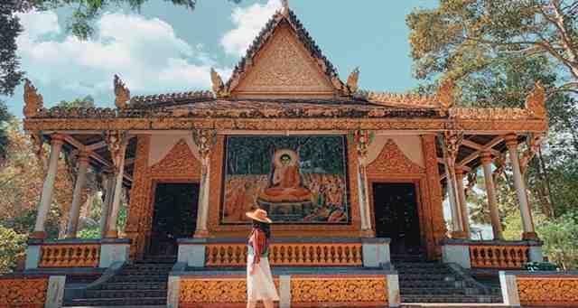 Bat Pagoda in Mekong Delta