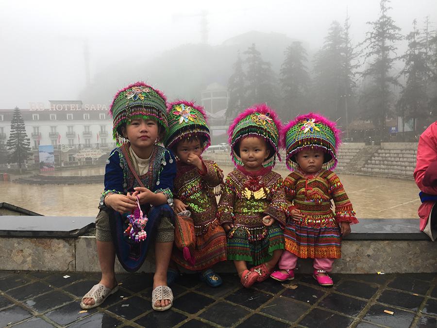 Sapa Hill Tribe Children